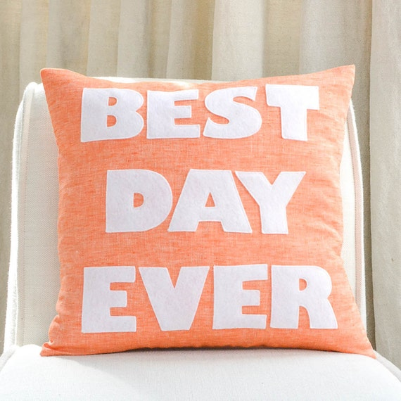 best pillow ever best day 16 linen pillow 31585