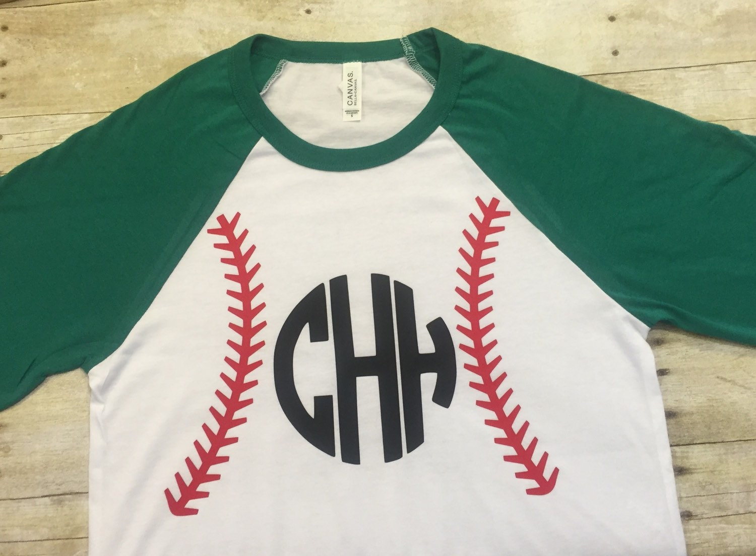 Personalized baseball tee personalized raglan tee baseball for Custom raglan baseball shirt