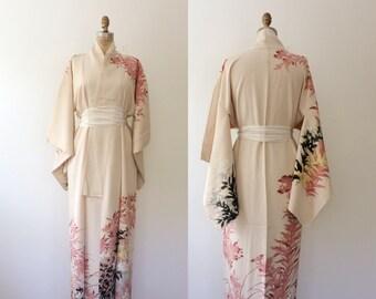 vintage kimono / kimono robe / Gilded Botany Kimono