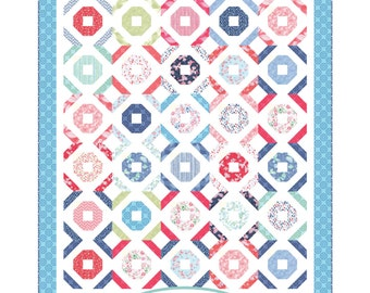 Oceanside Quilt PDF Pattern