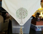 Tree of Life Altar Cloth with tassles