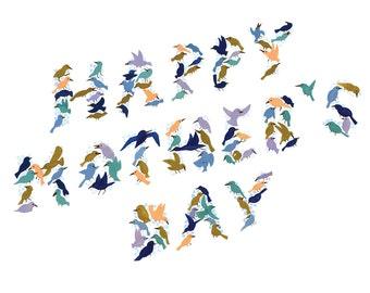 Mother's Day Tiny Birds Card