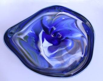 Wall Art Glass Blown Platter 267