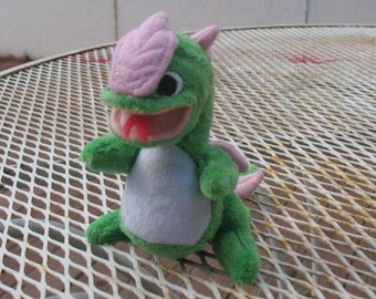 Baby Green Dragon plush one of a kind
