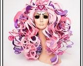 SALE TODAY Barbie Love Palace…. Huge Curly Foam Wig