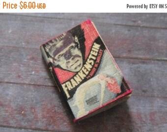 ON SALE Miniature Book --- Frankenstein