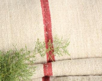 P 409 antique hemp linen roll french OLDROSE천 grainsack fabric 13.99yards wedding decor lin 22.05wide