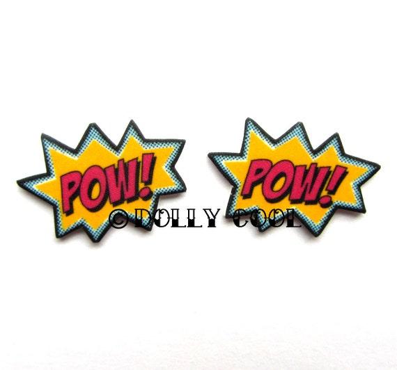 POW Earrings by Dolly Cool
