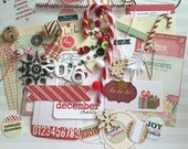 December Daily mini kit/Christmas Pack / Christmas DIY Kit / Daily Planner / Junk Journal / Gift Tags / Gift Wrap