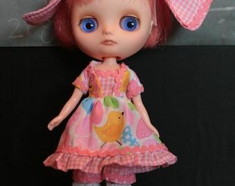 Middie Blythe Lolita Dress Set: Chicks for Spring, Easter dress