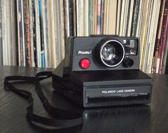1970's Polaroid SX-70 Pronto Instant Film Camera, Film-Tested & Working!