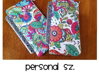 Personal Size - Planner pouch insert - Pen Pouch for planner - planner accessories pouch - bag for planner - planner bag