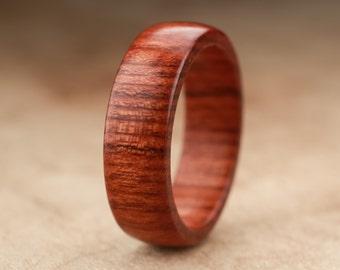 Size 10 - Mopani Wood Ring No. 107