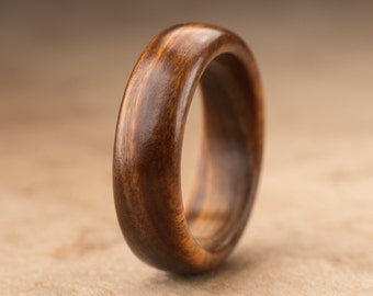 Size 8.5 - Guayacan Wood Ring No. 341