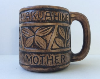 Hawaiian Mother Coffee Mug, Tiki Mug