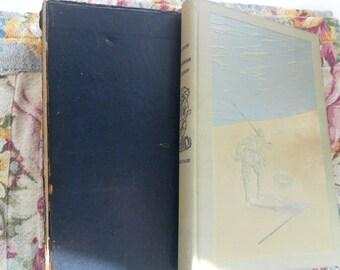 The Life and Strange Adventures of Robinson Crusoe by Daniel Defoe 1930 vintage book  SALE!