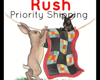 Rush My Bag Order and Add Priority Shipping