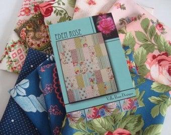 Eden Rose Verna Mosquera Floral Quilt Kit