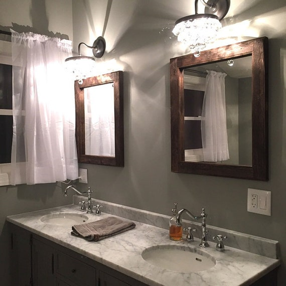 852 Bathtub Data Base Emails Contact Us Hk Mail: Mirror Set Double Sink Bathroom 2 Reclaimed Wood Mirrors
