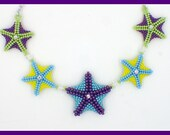 Starfish Necklace PDF Jewelry Making Tutorial (INSTANT DOWNLOAD)