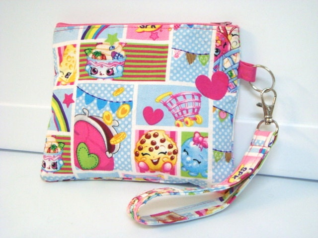 Shopkins toy pouch or troll pouch zipper by grandmaslittlelilly