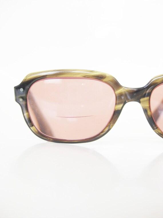 Bending Plastic Frame Glasses : Vintage 1980s Oversized Mens Sunglasses Eyeglasses Eyewear