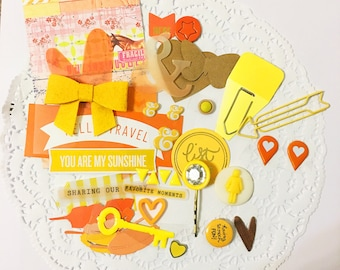 Embellishment Grab Bags: Yellow