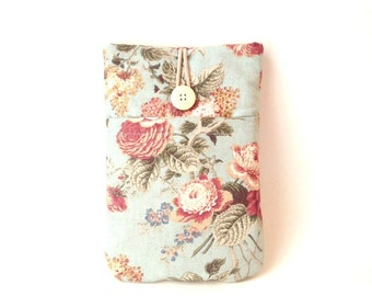 Kindle Oasis Sleeve, Voyage Paperwhite Fire HD 6 inch Touchscreen Vintage Floral Padded Case Cover Pocket Bag Flower English Rose Lilac Sac