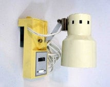 Vintage Portable Hanging Lamp by Mobilite. Circa 1980's.