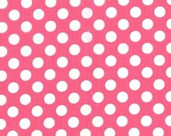Michael Miller Fabric Ta Dot Polka Dots Girl pink