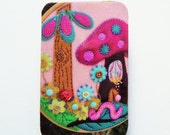 ON SALE - FB140 Limited Edition Wooden Brooch