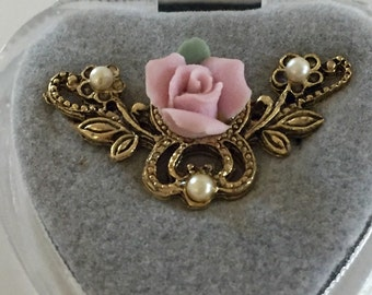 Vintage Brooch Costume Jewelry