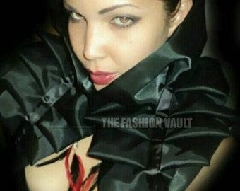 Cosplay Goth Burlesque shoulder collar bolero wrap Moulin rouge  Anime