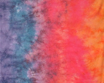 Hand Dyed Gradient Fabric - Appalachian Sunset