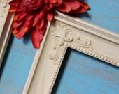 HOMCO Vintage Creamy Ivory Frames , DIY wall Frame , Shabby Chic Home Decor