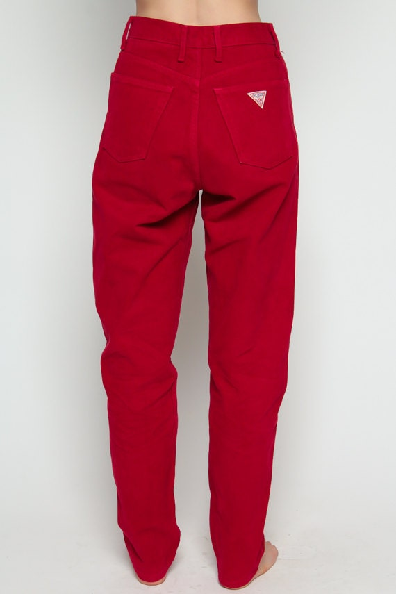 FOR SALES AND PROMOTIONS, FOLLOW US HERE! Instagram: @shopexile  facebook.com/shopexile. Red Jeans Mom Jeans GUESS ...
