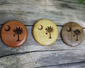 Reserved Listing- Custom Order Button- Wooden Buttons- Eco Craft Supplies, Eco Knitting Supplies, Eco Sewing Supplies