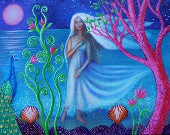 Bride of the Sea.  Original Painting.