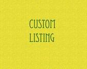 Custom Listing for Ambra