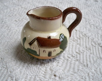 Vintage Collectible Miniature Pitcher Made in England Country Home