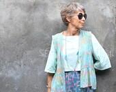 Widhya Sleeveless Peplem Jacket, S, M, L, Bali Batik, Rayon