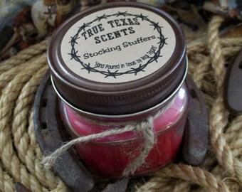 Stocking Stuffers - 8 oz Western Texas Cowboy Candle