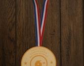 Gymnastics Tumbling Gold Medal Olympics inspired Birthday Party  Invitation by Palm Beach Polkadots