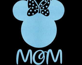 Minnie Mouse Mom SVG JPEG instant digital file download for vinyl cutters
