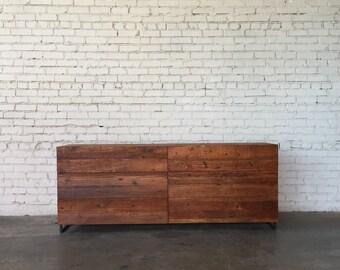Reclaimed Douglas fir Dresser, Six Drawers