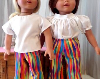 18 Inch Doll Clothes / Doll Pants / Doll Slacks / Doll Clothes / Doll Clothing / Doll Accessories / Fits American Girl Doll - 3522