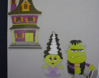 Set of 6 Assorted Halloween Cards