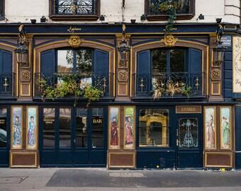 Paris Cafe Photo Laperouse Restaurant Cafe Paris Decor Bistro Photograph France Print Wall Art Home Decor par167