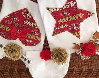 49ers bodysuit