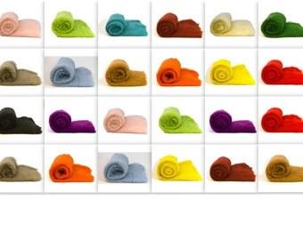 Heidifeathers Wool Batts and Mini Wool Batts